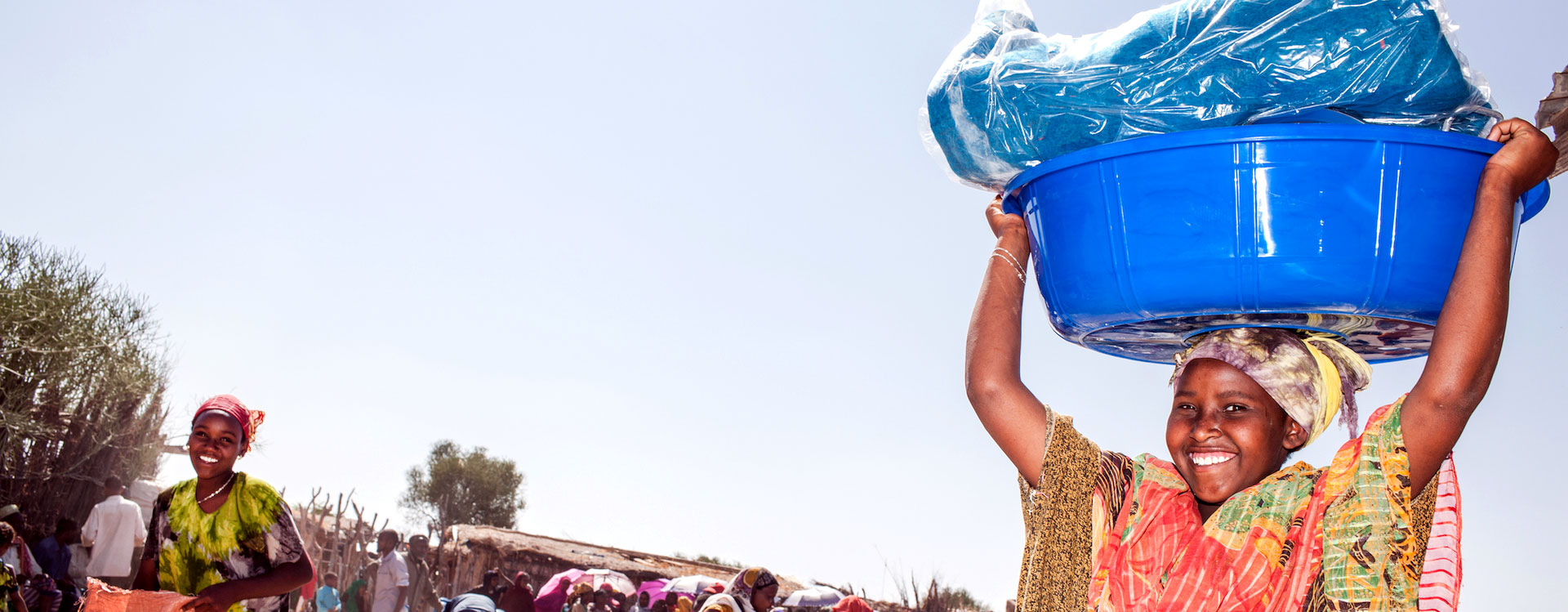 Emergency aid during drought in Borana, Ethiopia